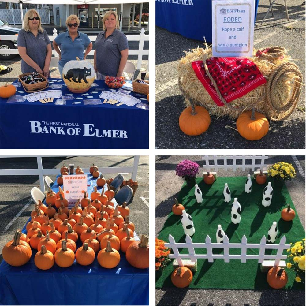 Collage of pics from the Elmer Harvest Day festival