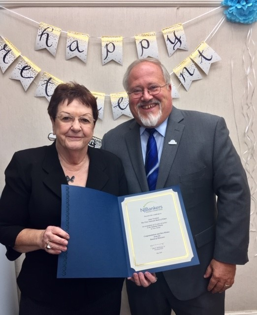 JoanNewkirkRetirement - Joan Newkirk, Community Banking Manager, Retires After 35 Years
