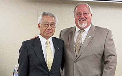 FNBE Hosts Japanese Bankers