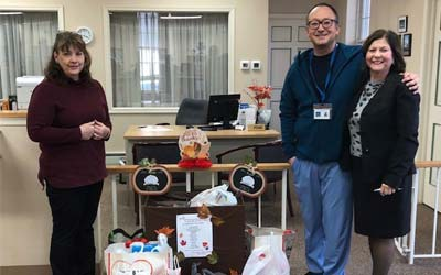 Elk Office supports the Aura School Annual Food Drive