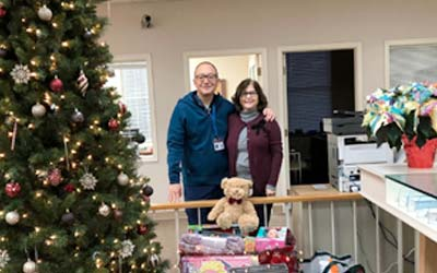 Elk Office supports the Aura School Toy Drive