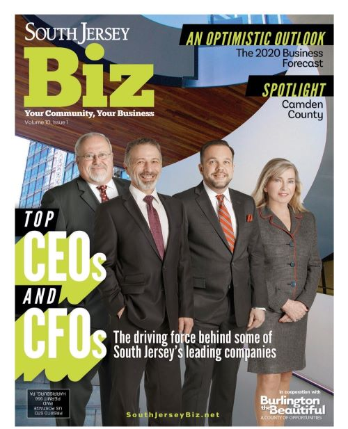Cover of South Jersey Biz magazine
